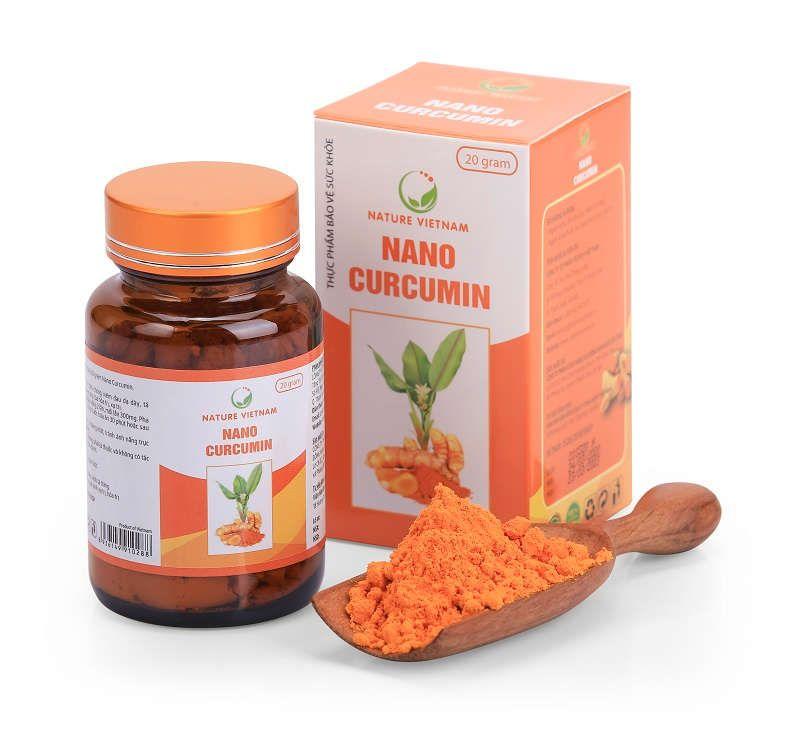 Nano Curcumin - dạng bột